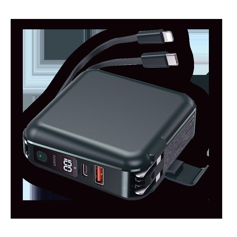 LAPO多功能無線充電快充行動電源WT-01AW(白)