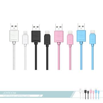 JOYROOM機樂堂 迅捷2.4A快充 Lightning數據傳輸線(S118) 電源連接線/ 充電線 iPhone適用