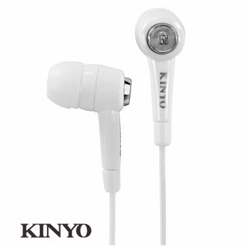 【KINYO】炫白密閉式耳機EMP57