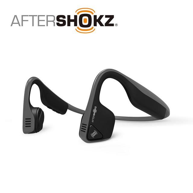 AFTERSHOKZ Trekz Titanium AS600骨傳導藍牙運動耳機(板岩灰)