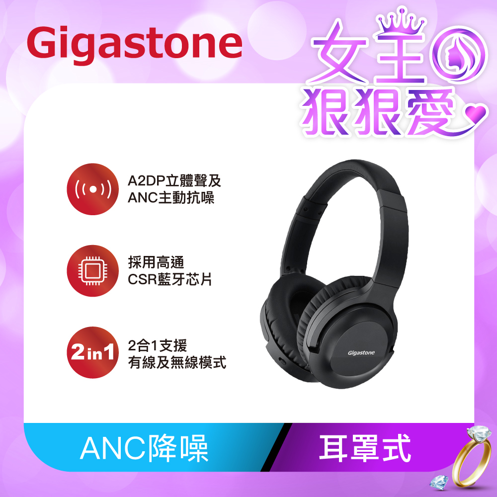 Gigastone Headphone A1 無線抗噪藍牙耳機