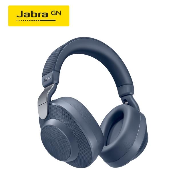 Jabra Elite 85h 頭戴式智能降噪藍牙耳機(藍)