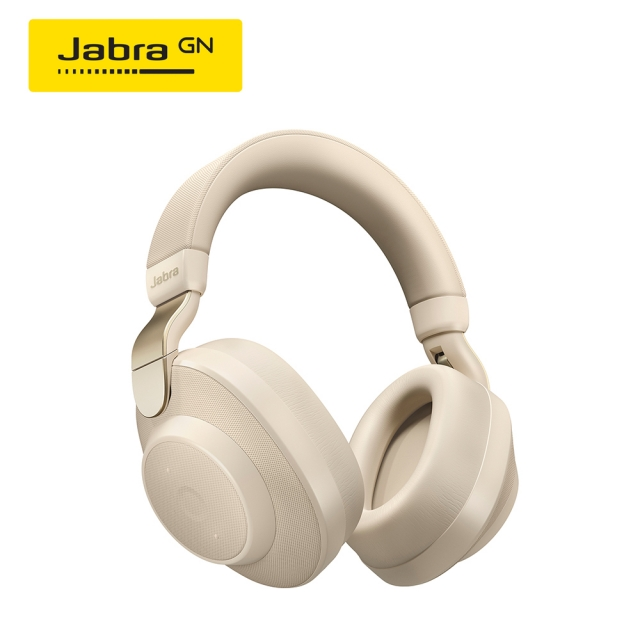 Jabra Elite 85h 頭戴式智能降噪藍牙耳機(柏金)