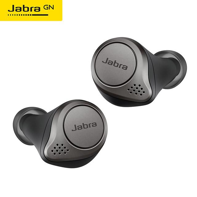【Jabra】Elite 75t 真無線藍牙耳機(鈦黑)