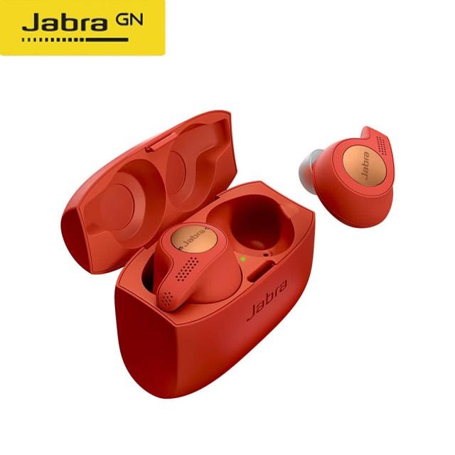 【Jabra】Elite Active 65t 真無線運動藍牙耳機(烈焰紅)