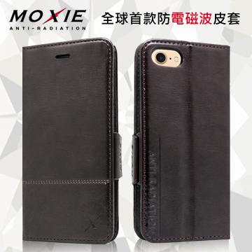 Moxie X-Shell iPhone 7 防電磁波 復古系列手機皮套 / 紳士黑
