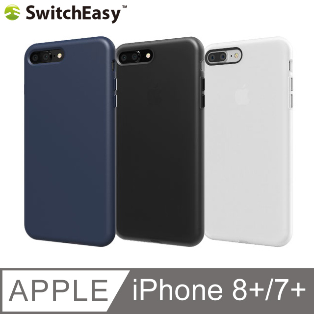 SwitchEasy Numbers iPhone 7 Plus 軟質霧面保護套(另附防塵塞)