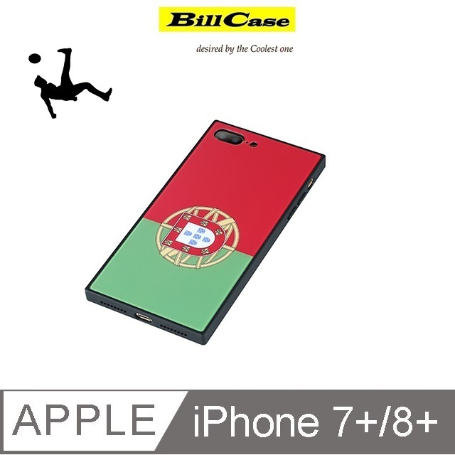 2018 IPhone 7/8+ 世足經典列強 手機保護殼 (葡萄牙)