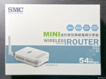 SMC SMCWBR11-G 迷你美型無線寬頻分享器