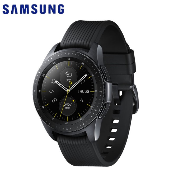 Samsung Galaxy Watch 智慧型手錶 (42mm/LTE版)-午夜黑 R815