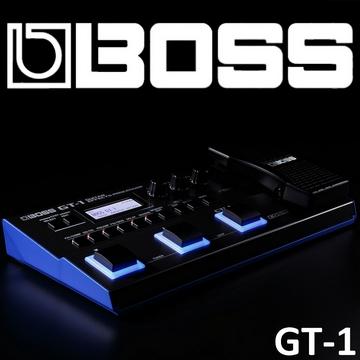 『BOSS』GT-1 吉他效果處理器 / 綜合效果器 贈導線、整流器 / 公司貨保固