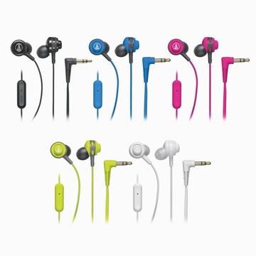 鐵三角耳道耳掛式手機用耳麥ATH-COR150iS