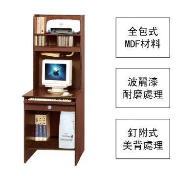 (幸福活力)2尺書架型電腦桌