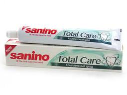 土耳其 Sanino 全效口腔呵護牙膏 Total Care Toothpaste 128g 新品優惠 二入組