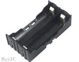 18650 2節 插針式 電池盒 鋰電池盒
