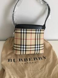 全新轉售 Burberry BNCCANONBURY MINI P BOTTOM H 112 CAMEL手提肩背兩用包