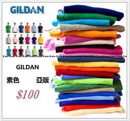 minimal╭☆GILDAN 76000 美國大牌 美國棉無接縫圓筒T 素TEE 男女皆可 短tee 純棉