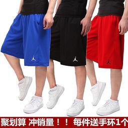 Jordan喬丹運動短褲男 五分褲夏款跑步訓練籃球褲nba寬松褲