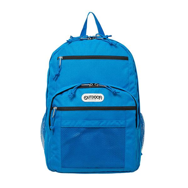 【OUTDOOR】14吋筆電後背包-率性學院風旅行背包(黑/藍/棕)