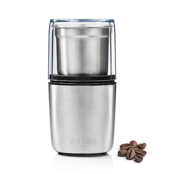 【PRINCESS荷蘭公主】不鏽鋼咖啡磨豆機 研磨咖啡機
