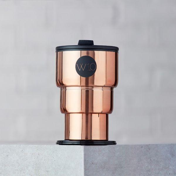 【W10】英國不鏽鋼折疊隨身杯