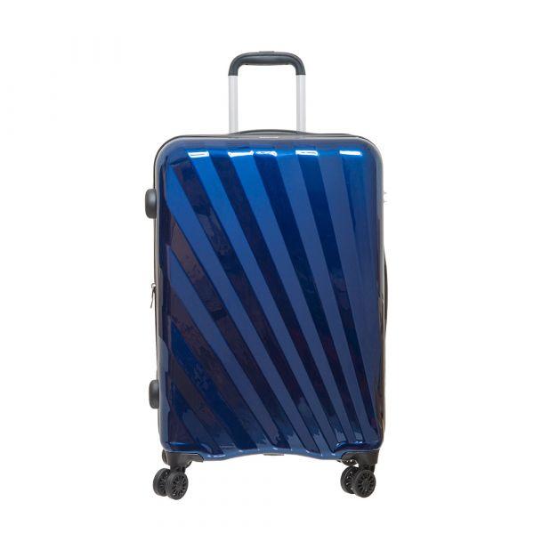 【Outdoor】24吋行李箱SHINE拉鍊箱系列(綠/橘/藍)