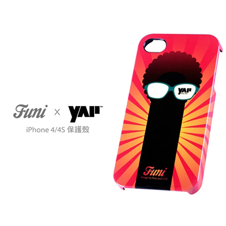 Funi x YAP iPhone 4/4S 保護殼 - 眼睛樹
