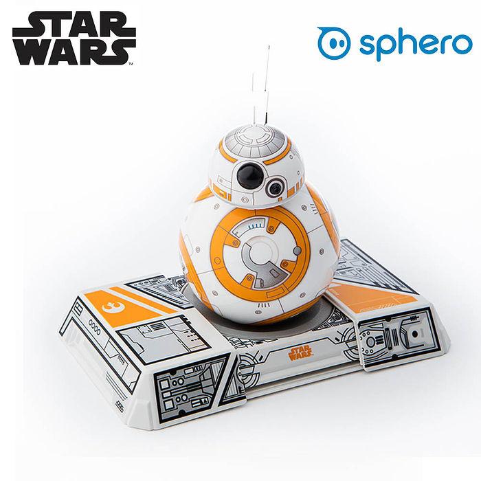 Sphero 星際大戰 BB-8 遙控機器人(附訓練底座)公司貨