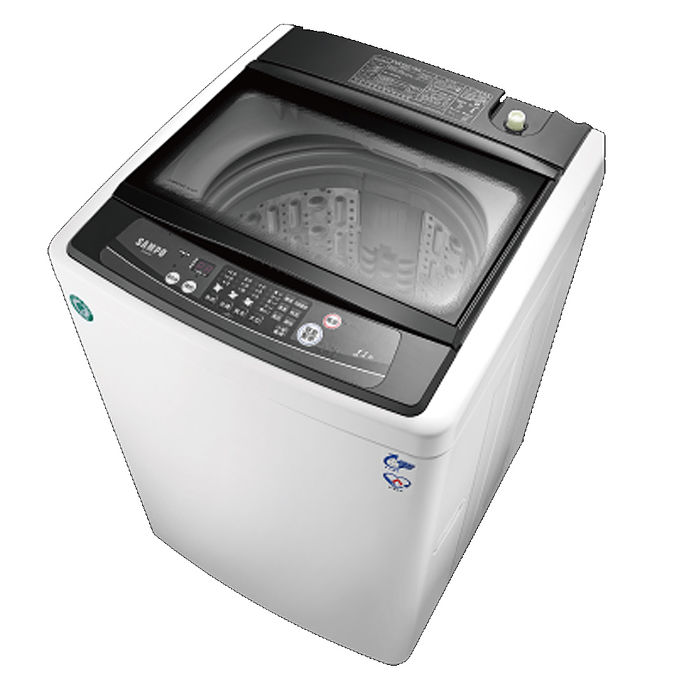 聲寶 SAMPO 11公斤 單槽定頻洗衣機 ES-H11F(W1)