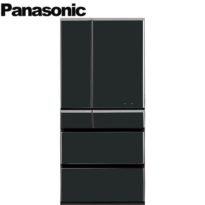 Panasonic 國際牌 665L日本製六門晶鑽鏡面變頻冰箱 NR-F672WX-X1
