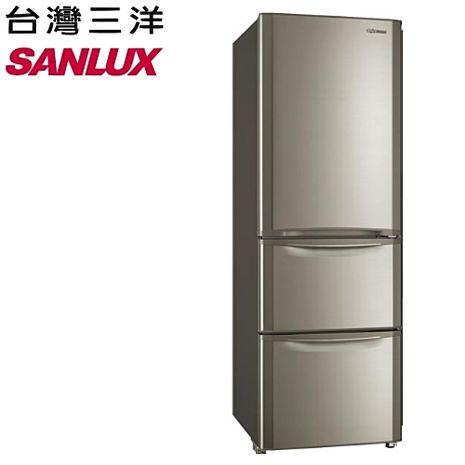 ★神優惠★SANYLUX 台灣三洋 380公升三門變頻冰箱 SR-B380CVF