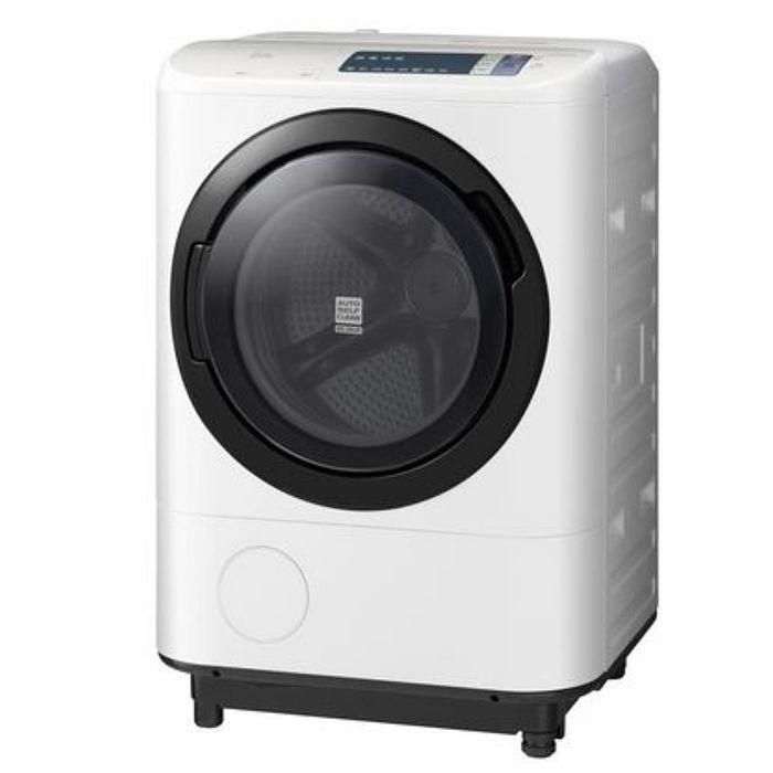 【HITACHI日立】11.5KG日本原裝溫水擺動式飛瀑洗脫烘滾筒洗衣機(左開) BDNV115AJ/BDNV115AJ-W