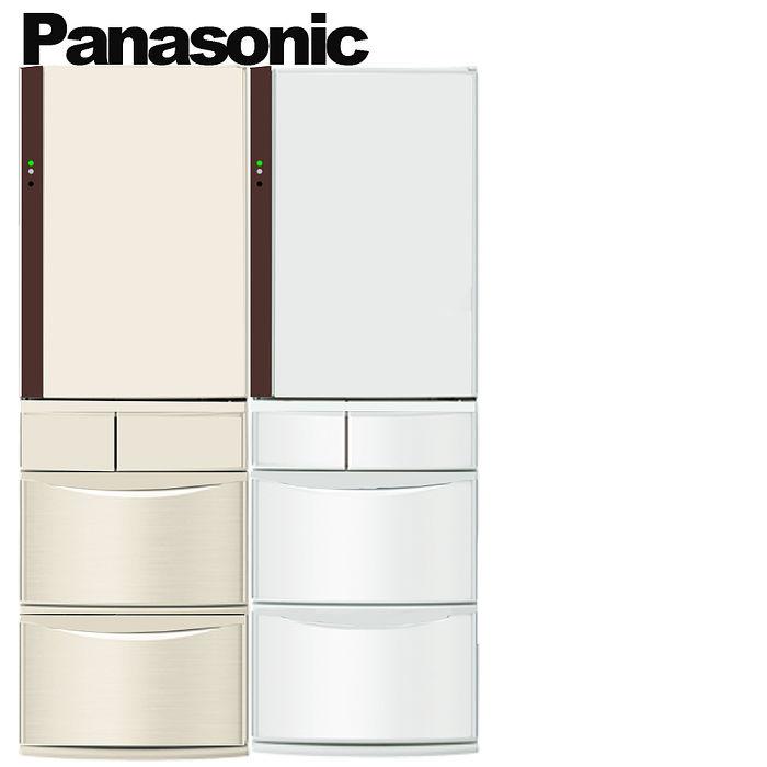 Panasonic 國際牌 日本原裝 411公升 ECONAVI五門變頻冰箱 NR-E412VT-N1/NR-E412VT-W1(不參加原廠贈品活動)晶鑽白