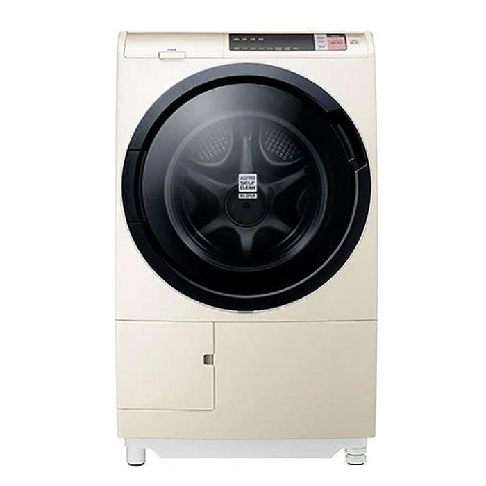 【日立HITACHI】日本原裝 12.5kg擺動式溫水尼加拉飛瀑洗脫烘滾筒洗衣機 -右開 BDSV125AJR