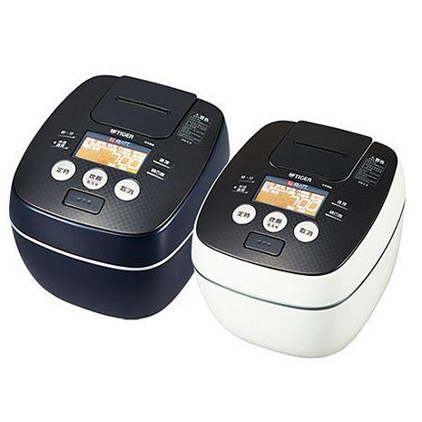 【TIGER 虎牌】日本製10人份可變式雙重壓力IH炊飯電子鍋 JPB-G18R-WA(白色)