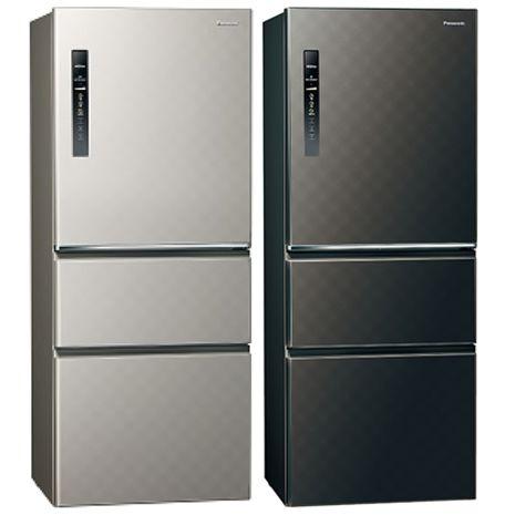 Panasonic國際牌變頻三門電冰箱500公升NR-C509HV-S/NR-C509HV-K銀河灰