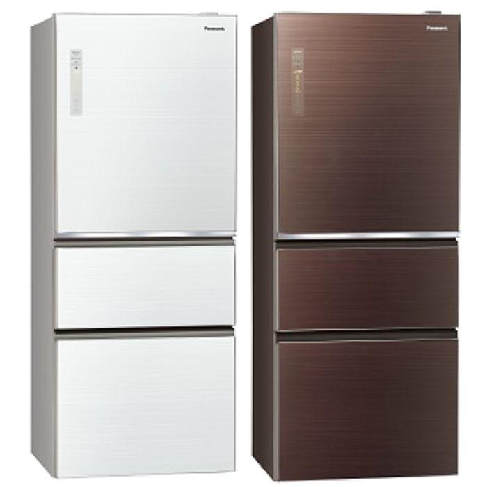 Panasonic國際牌 變頻三門電冰箱(玻璃面無邊框)500公升 NR-C509NHGS-T/NR-C509NHGS-W(不參加原廠贈品活動)翡翠棕