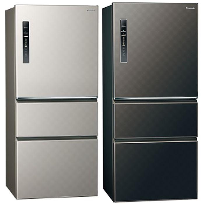 Panasonic國際牌 變頻三門電冰箱610公升NR-C619HV-S/NR-C619HV-K銀河灰