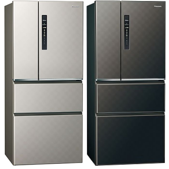 Panasonic國際牌 變頻四門電冰箱 610公升NR-D619HV-S/NR-D619HV-K銀河灰