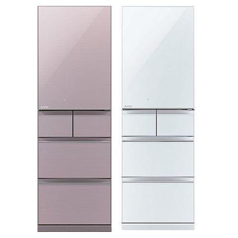 【MITSUBISHI 三菱】日本原裝455公升 五門變頻電冰箱(MR-BC46Z-P-C/MR-BC46Z-W-C)水晶白