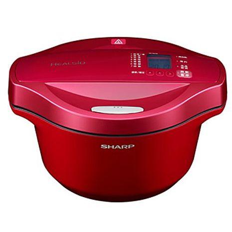 【SHARP夏普】2.4L 0水鍋-紅 KN-H24TB