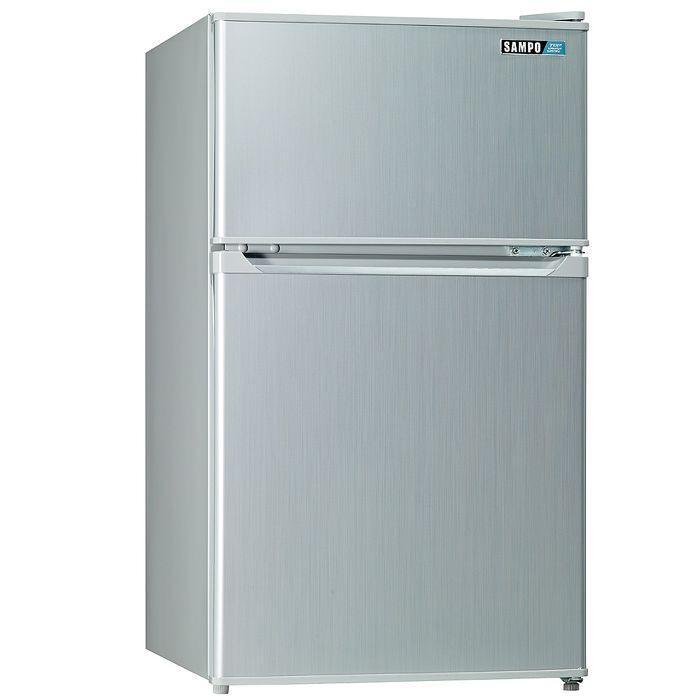 【SAMPO 聲寶】100公升雙門小冰箱SR-A10G (CP高於R1303W)