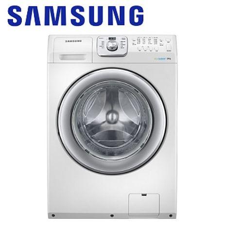 【Samsung三星】(預購)原裝進口14KG噴射水流洗脫烘滾筒 WD14F5K5ASW/TW