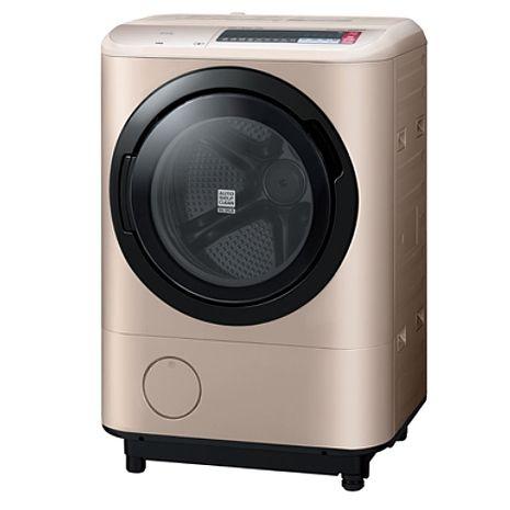 HITACHI 日立 溫水擺動式飛瀑12.5kg滾筒洗脫烘衣機 BDNX125BHJ