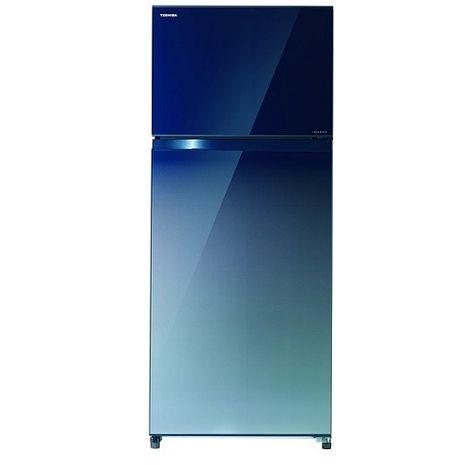 【TOSHIBA東芝】473公升雙門變頻玻璃電冰箱 GR-AG52TDZ(GG)