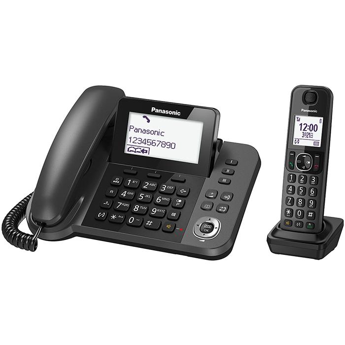 Panasonic國際牌 KX-TGF310 子母機中文顯示數位無線電話