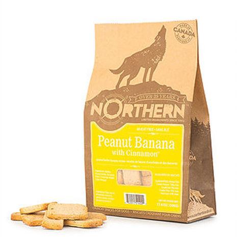 【Northern】加拿大天然手工餅乾(香蕉肉桂花生醬/500g)
