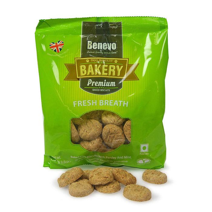 【Benevo 倍樂福】英國天然素食消臭小餅乾250g / 2入組