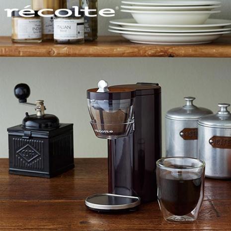 recolte 日本麗克特 Solo Kaffe 單杯咖啡機咖啡棕
