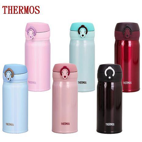 膳魔師 THERMOS 保溫瓶 JNL-350 極超輕 304不鏽鋼真空斷熱 保溫杯【特賣】JNL-350-MNT青綠